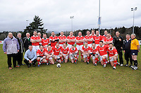 The Ulster 1999 XV that played the Wooden Spoon Select XV at Shaw's Bridge Belfast.  Mandatory Credit - Photo : Oliver McVeigh
