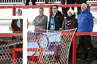 Wycombe Wanderers fans <br /> during the Sky Bet League 2 match between Accrington Stanley and Wycombe Wanderers at the wham stadium, Accrington, England on 28 February 2017. Photo by Tony  KIPAX.