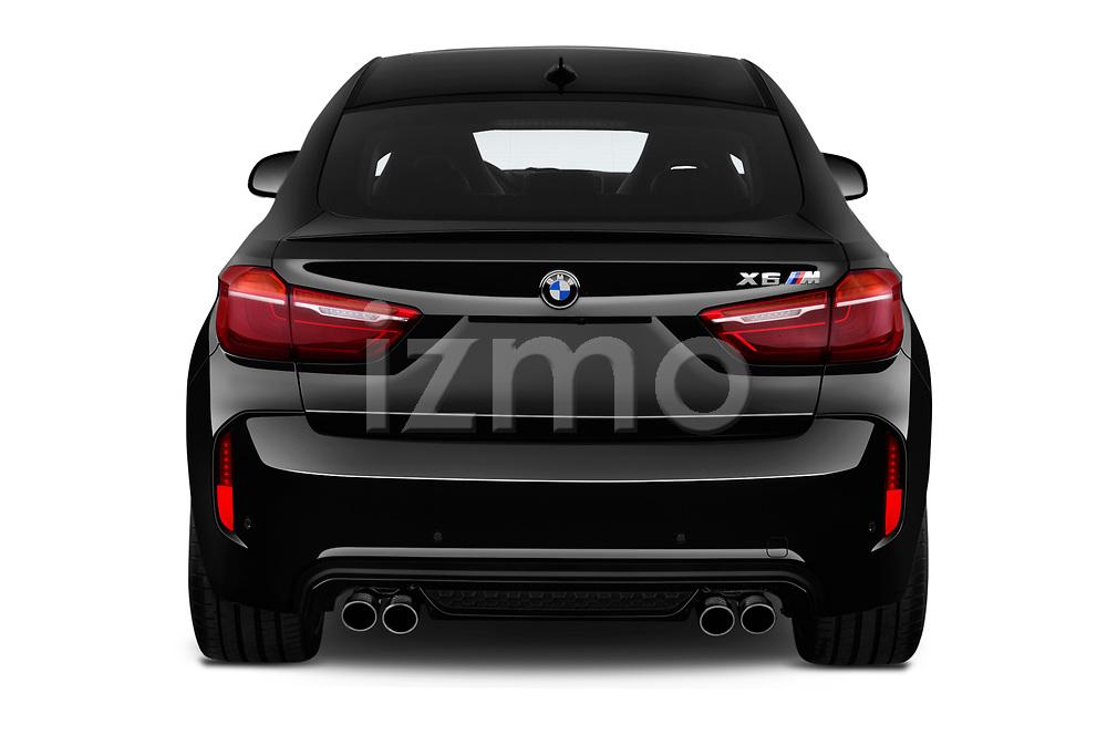 2018 BMW X6M Black Fire 5 Door SUV stock images