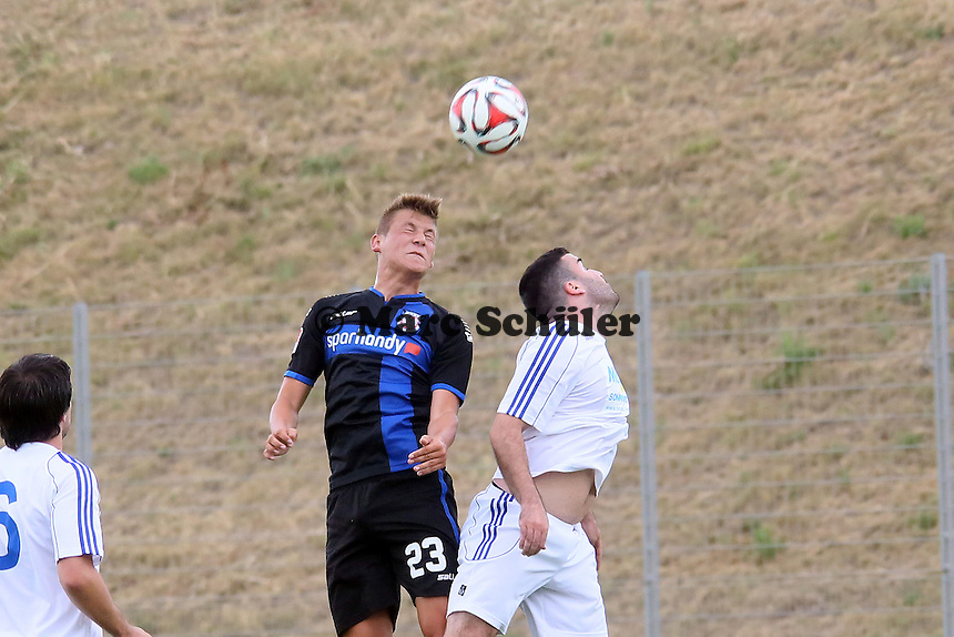 Kopfball Marcel Kaffenberger (FSV) - VfB Ginsheim vs. FSV Frankfurt