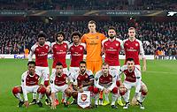 Arsenal v Red Star Belgrade - Europa League Group match - 02.11.2017