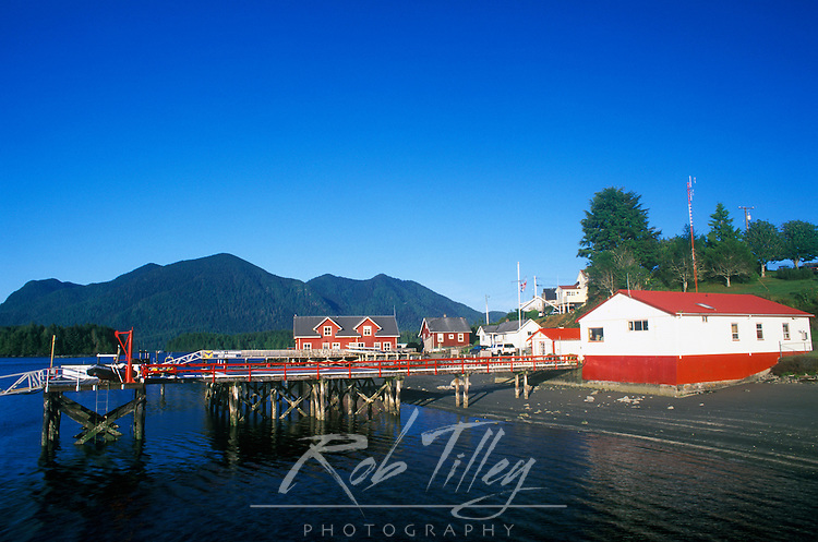 N.A., Canada, British Columbia, Vancouver Island, Tofino Waterfront