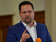 Baltimore, MD - June 2, 2018:  Benjamin Jealous participates in a forum with democrat candidates for Maryland Governor at the New Waverly United Methodist Church in Baltimore, Maryland, June 2, 2018. Leaders of a Beautiful Struggle sponsored the forum. (Photo by Don Baxter/Media Images International)