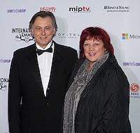 NEW YORK, NY - NOVEMBER 19: Regina Ziegler and  Michael Smeaton at the 40th International Emmy Awards in New York. November 19, 2012. © Diego Corredor/MediaPunch Inc. /NortePhoto