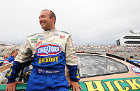 May 31, 2008; Dover, DE, USA; Nascar Nationwide Series driver Marcos Ambrose during the Heluva Good 200 at the Dover International Speedway. Mandatory Credit: Mark J. Rebilas-