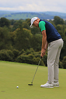 Robin Dawson of Team Ireland on the 12th green during Round 4 of the WATC 2018 - Eisenhower Trophy at Carton House, Maynooth, Co. Kildare on Saturday 8th September 2018.<br /> Picture:  Thos Caffrey / www.golffile.ie<br /> <br /> All photo usage must carry mandatory copyright credit (© Golffile | Thos Caffrey)