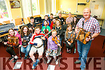 Willie Larkin taking the Polka and Slide Workshop at the Listowel Munster Fleadh in Coláiste na Ríochta on Friday