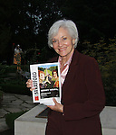 All My Children's Lee Meriwether jumped on a plane upon finishing taping AMC and arrived at the Festival to see The Merry Wives of Windsor with her husband (thus the photo with the playbill) at the Stratford Theatre Festival in Stratford, Ontario, Canada   (Photo by Sue Coflin/Max Photos)