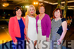 L-R Joan Desmond from Rathmore, dr. Maria Stack from Killarney, Anne SSaunders from Rathmore and May Cremin from Rathmore at the Cairde an Leigiun Designer Fashion Event at The Malton Hotel, Killarney last Friday night.