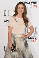 Olivia Wilde at the Elle Style Awards 2015 at Sky Bar, Walkie Talkie Building, London, 24/02/2015 Picture by: Steve Vas / Featureflash
