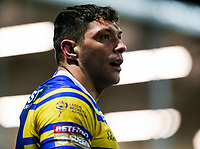 Leeds Rhinos' Ryan Hall<br /> <br /> Photographer Alex Dodd/CameraSport<br /> <br /> Betfred Super League Round 5 - Leeds Rhinos v Hull FC - Thursday 8th March 2018 - Headingley Carnegie Stadium - Leeds<br /> <br /> World Copyright &copy; 2018 CameraSport. All rights reserved. 43 Linden Ave. Countesthorpe. Leicester. England. LE8 5PG - Tel: +44 (0) 116 277 4147 - admin@camerasport.com - www.camerasport.com