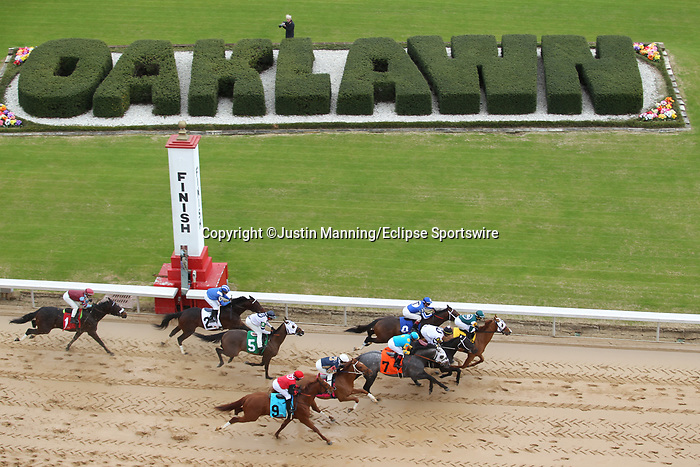 January 24, 2020: Scenery during the opening day at Oaklawn Racing Casino Resort in Hot Springs, Arkansas. ©Justin Manning/Eclipse Sportswire/CSM