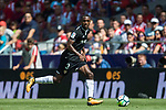 Lionel Jules Carole of Sevilla FC in action during the La Liga 2017-18 match between Atletico de Madrid and Sevilla FC at the Wanda Metropolitano on 23 September 2017 in Wanda Metropolitano, Madrid, Spain. Photo by Diego Gonzalez / Power Sport Images