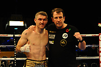 Liam Smith defeats Liam Williams by majority decision. during a Boxing Show at the Metro Radio Arena on 11th November 2017