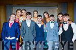 L-R Liam O,Connor, Sarah Mahony, Lisa Flynn, Declan McCarthy, Grain Walsh, Mossie Brosnan, Alanna Glendon, Matthew O'Connor, Emma Walsh and Jordan Coffey at the Presentation Secondary school Castleisland Debs last Friday night in the Ballyroe heights Hotel, Tralee.
