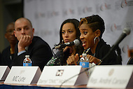 September 20, 2013  (Washington, DC) Rapper/Hip Hop artist MC Lite speaks during a panel discussion at the Congressional Black Caucus Foundation's 2013 Annual Legislative Conference. (Photo by Don Baxter/Media Images International)