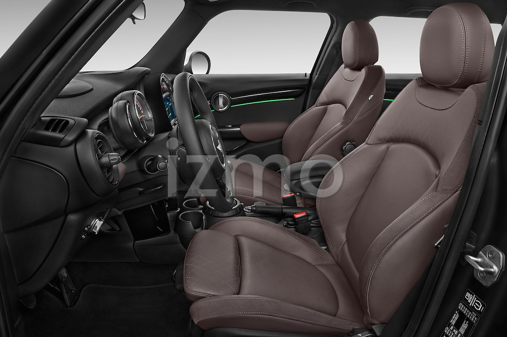 Front seat view of a 2015 MINI Mini Cooper 5 Door Hatchback 2WD Front Seat car photos