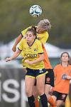 BRISBANE, AUSTRALIA - FEBRUARY 22:  during the NPL Queensland Senior Womens Round 1 match between Eastern Suburbs FC and Gold Coast United at Heath Park on February 23, 2020 in Brisbane, Australia. (Photo by Patrick Kearney)
