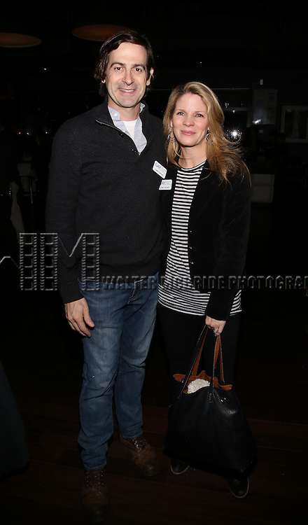 Greg Naughton and Kelli O'Hara attend the 5th Annual Paul Rudd All-Star Bowling Benefit for (SAY) at Lucky Strike Lanes on February 13, 2017 in New York City.