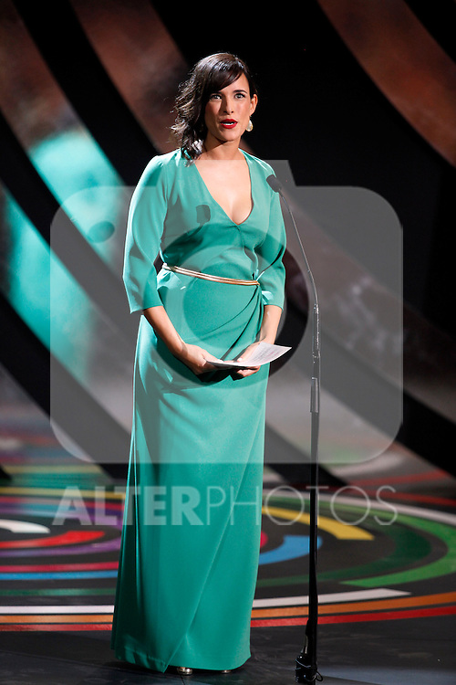 Sara Cozar  during the 61st San Sebastian International Film Festival's opening ceremony, in San Sebastian, Spain. September 20, 2013. (ALTERPHOTOS/Victor Blanco)