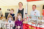 Anyone for Ice Cream at the Killorglin business expo in the Killorglin CYMS on Friday Aoife, Clodagh, Oran and Fionnuala Hamilton Killorglin