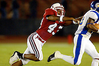 Jason White during Stanford's 63-26 win over San Jose State on September 14, 2002 at Stanford Stadium.<br />