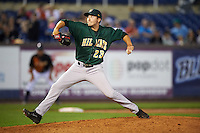 Lynchburg Hillcats relief pitcher David Speer (23) during a game against the Wilmington Blue Rocks on June 3, 2016 at Judy Johnson Field at Daniel S. Frawley Stadium in Wilmington, Delaware.  Lynchburg defeated Wilmington 16-11 in ten innings.  (Mike Janes/Four Seam Images)