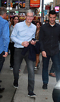 SEP 19 Tim Cook, Ceo of Apple, at Good Morning America