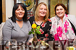 Marion Clifford, Annette Carmody and Mary Hurley enjoying the Womens Little Christmas in the Brogue Inn on Saturday night.