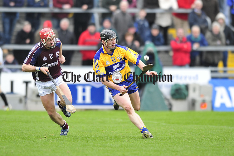 Clare v Galway at Pearse Stadium Galway.Pic Arthur Ellis.