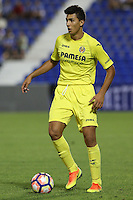 Villarreal's Rodrigo Hernandez during the XXXVII trophy of Legane's City between CD Leganes and Villarreal CF at Butarque Stadium. August 13, 2016. (ALTERPHOTOS/Rodrigo Jimenez) /NORTEPHOTO