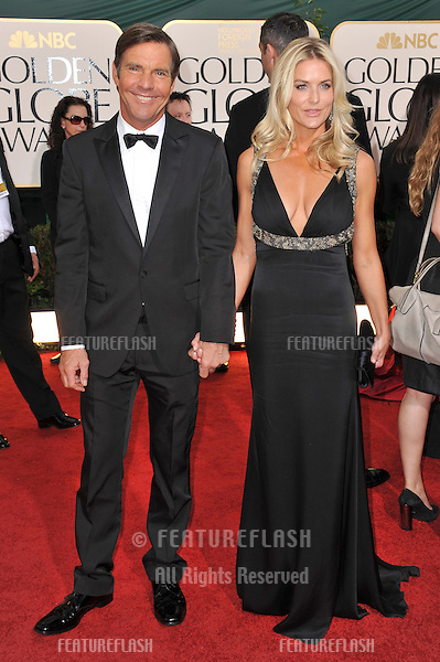 Dennis Quaid at the 68th Annual Golden Globe Awards at the Beverly Hilton Hotel..January 16, 2011  Beverly Hills, CA.Picture: Paul Smith / Featureflash