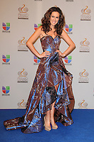 Jacqueline Bracamontes in the pressroom at Univision's Premio Lo Nuestro a La Musica Latina at American Airlines Arena on February 16, 2012 in Miami, Florida. © mpi10/MediaPunch Inc