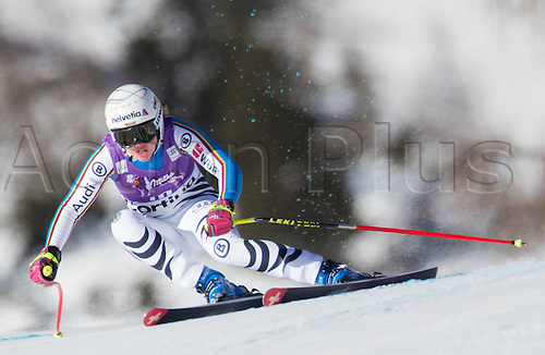 23.01.2016. Cortina d Ampezzo, Italy, FIS Womens World Cup Downhill Skiing. Viktoria Rebensburg of Germany competes