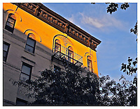 YORKVILLE, NY - SEPTEMBER 19: Photograph of 501 East 84th street sunset in Yorkville, New York on September 19, 2012. Photo Credit: Thomas R. Pryor