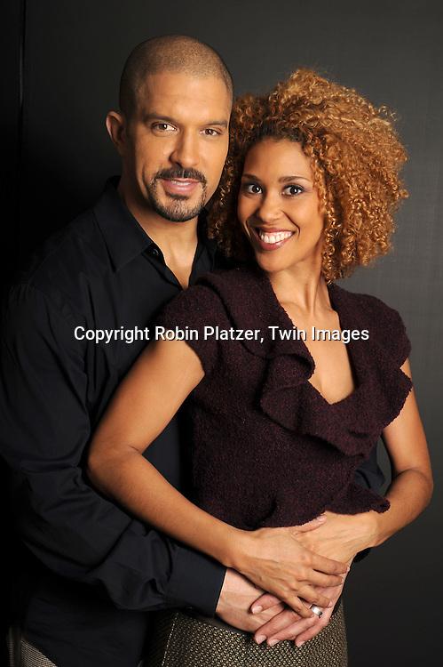 Victoria Platt and husband Terrell Tilford