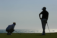 S&oslash;ren Kjeldsen (DEN) &amp; Mike Lorenzo Vera (FRA) during the first round of the Rocco Forte Sicilian Open played at Verdura Resort, Agrigento, Sicily, Italy 10/05/2018.<br /> Picture: Golffile | Phil Inglis<br /> <br /> <br /> All photo usage must carry mandatory copyright credit (&copy; Golffile | Phil Inglis)