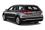 Car pictures of rear three quarter view of a 2019 Ford Mondeo Clipper Hybrid 5 Door Wagon angular rear