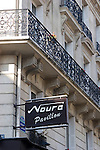 Exterior, Pavillon Noura Restaurant, Paris, France, Europe