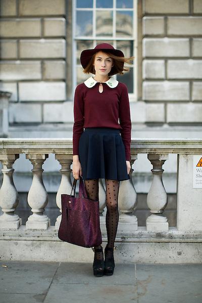 Ella Catliff of La Petite Anglaise blog
