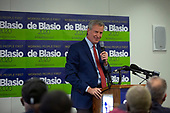 New York City Mayor and 2020 Presidential candidate Bill de Blasio announces a policy plan to put working families first during an event with the Communications Workers of America in Washington D.C., U.S. on July 23, 2019.<br /> Credit: Stefani Reynolds / CNP<br /> (RESTRICTION: NO New York or New Jersey Newspapers or newspapers within a 75 mile radius of New York City)