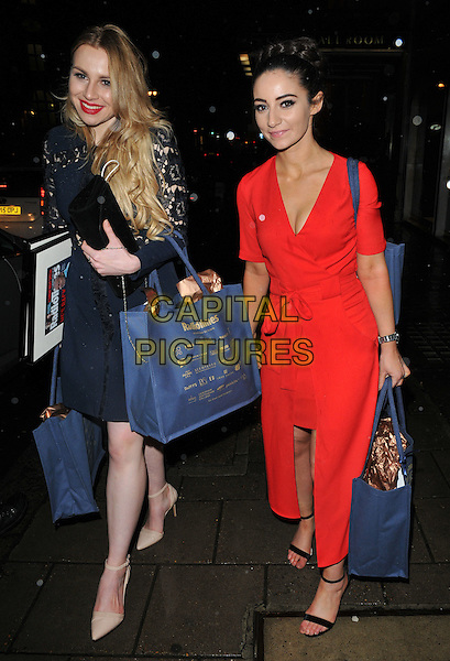 The Apprentice 2016 winner Alana Spencer and Frances Bishop at the Radio Times Covers Party, Claridge's Hotel, Brook Street, London, England, UK, on Tuesday 31 January 2017.<br /> CAP/CAN<br /> &copy;CAN/Capital Pictures