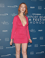 Victoria Clay at the Newport Beach Film Festival UK Honours, The Langham Hotel, Portland Place, London, England, UK, on Thursday 07th February 2019.<br /> CAP/CAN<br /> &copy;CAN/Capital Pictures