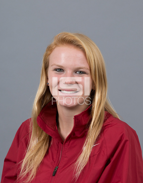 STANFORD, CA - SEPTEMBER 24, 2014--Julia Maxwell, with Stanford University Cross Country Team