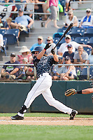 Conner Hale (39) of the Everett Aquasox at bat during a game against the Hillsboro Hops at Everett Memorial Stadium in Everett, Washington on July 5, 2015.  Hillsboro defeated Everett 11-4. (Ronnie Allen/Four Seam Images)