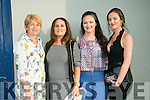 l-r  Geraldine Galway, Laura Galway, Roisin O'Regan and Annie Galway enjoying  the Mime Wars fundraiser for Ballyheigue GAA at the Ballyheigue Community Centre on Sunday