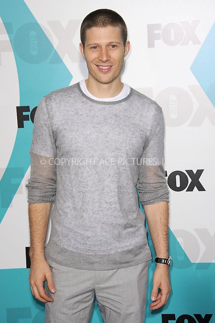 WWW.ACEPIXS.COM . . . . . .May 14, 2012...New York City....Zach Gilford attending the 2012 FOX Upfront Presentation in Central Park on May 14, 2012  in New York City ....Please byline: KRISTIN CALLAHAN - ACEPIXS.COM.. . . . . . ..Ace Pictures, Inc: ..tel: (212) 243 8787 or (646) 769 0430..e-mail: info@acepixs.com..web: http://www.acepixs.com .