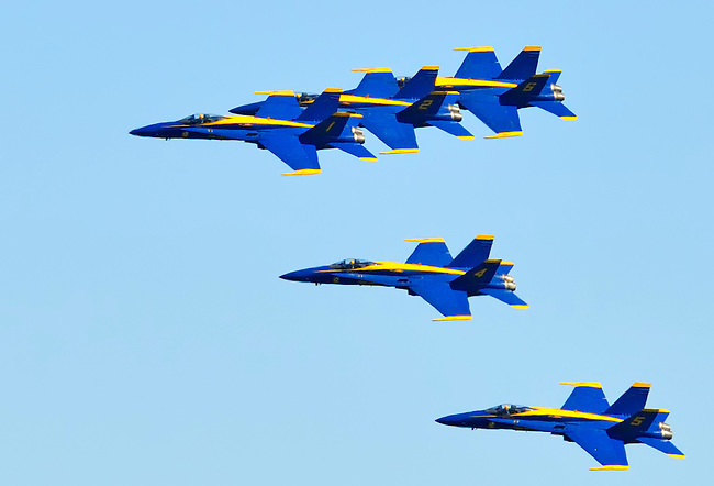 Blue Angels Fly_By