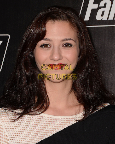 05 November - Los Angeles, Ca - Katie Findlay. Arrivals for the official launch party of the video game &quot;Fallout 4&quot; held at a private location in Downtown LA.  <br /> CAP/ADM/BT<br /> &copy;BT/ADM/Capital Pictures