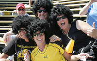 FC Gold Pride Fans. Washington Freedom defeated FC Gold Pride 4-3 at Buck Shaw Stadium in Santa Clara, California on April 26, 2009.